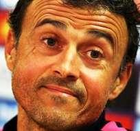 Luis Enrique, entrenador del Barcelona de España (Foto: EFE)