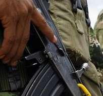 COLOMBIA.- El incidente dejó 26 guerrilleros muertos en Colombia. Fotos: EFE