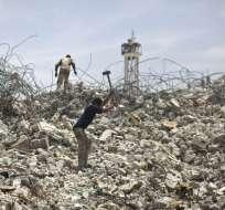 Los aviones atacaron campos de entrenamiento de la Yihad islámica en Rafá, Jan Yunes y Gaza. Foto: AFP