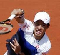Kei Nishikori, tenista japonés (Foto: EFE)