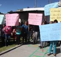 QUITO, Ecuador. La directora del  'Guagua Centro Las Casas' fue separada de la institución.