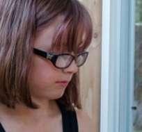 """Hailey Fort de 9 años asegura que """"Todo el mundo debe tener un hogar para vivir""""."""