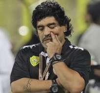 Maradona aspira llegar a la FIFA.