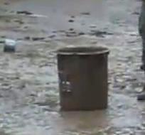 Los organismos de socorro atendieron las emergencias, la escuela 12 de Febrero de Zamora también resultó afectada.