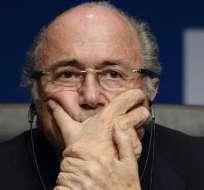 Blatter no saldrá de la FIFA de inmediato.