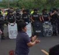 """ITALIA.- """"Tratan de asustar a la gente, tratan de ponerla violenta"""", señaló el presidente respecto a video difundido por Cinthya Viteri. Foto: Refencial"""