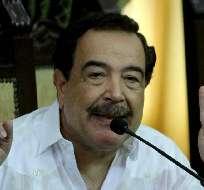 El líder del movimiento CREO, Guillermo Lasso, dijo que las movilizaciones no se deben desactivar. Fotos: API.