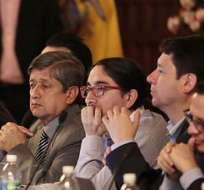 QUITO, Ecuador.- El presidente Correa convocó a una reunión de gabinete ampliado en Carondelet para revisar el tema. Fotos: Presidencia