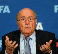 El suizo Joseph Blatter reiteró su inocencia en el escándalo de corrupción de la FIFA.
