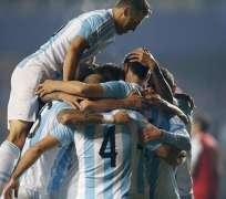 Los argentinos buscan una nueva corona dos décadas sin títulos. Foto: EFE.