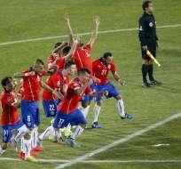 Chile campeón. Foto: EFE.