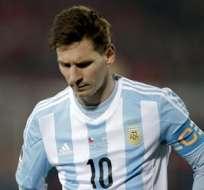 Messi no ha podido levantar un solo título con Argentina. Foto: EFE.