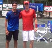 El tenista ecuatoriano, Emilio Gómez, cumple una destacada actuación en Estados Unidos.