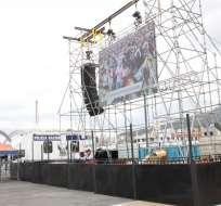 Las pantallas se colocarán en el parque La Carolina y en el parque Quitumbe.