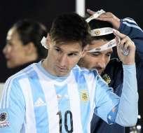 Messi ha recibido duras críticas por su actuación en la final de la Copa América. Foto: AFP.