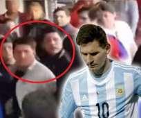 La familia de Messi no pudo observar el partido en paz.