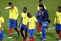 Después de su mala participación en la Copa América, Ecuador descendió cuatro posiciones en el escalafón. Foto: Web Referencial.