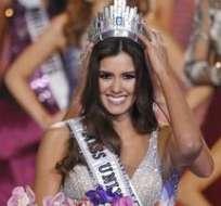 """La Miss Universo dijo la semana pasada que consideraba """"hirientes"""" comentarios de Trump.  Foto: EFE"""