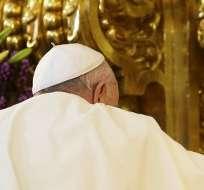 """QUITO, Ecuador.- El pontífice habló de aceptar la misión sin condiciones, algo que """"no conviene olvidar"""". Foto: AFP"""