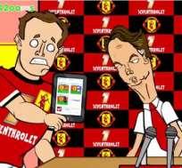 Parodían a Van Gaal leyendo la cuenta twitter de Valdés.