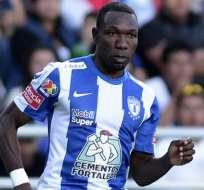 Ayoví ha jugado varias temporadas en el fútbol mexicano.