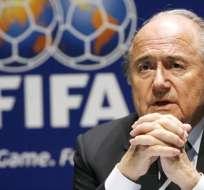 El suizo Joseph Blatter reiteró que no irá por la reelección en la presidencia de la FIFA.