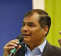 QUITO, Ecuador.- Correa señaló en que el primer objetivo de la estrategia es mantener la estabilidad y la gobernabilidad. Foto: Presidencia de la República
