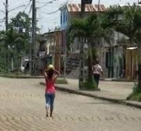ECUADOR.- Las autoridades provinciales se disputan la realización de obras en La Manga del Cura. Foto: Archivo