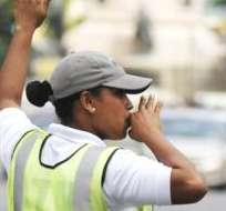 GUAYAQUIL, Ecuador.- Durante 17 horas de control en manos de los agentes de ATM, no se han reportado novedades. Foto: API