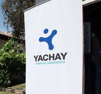 IMBABURA, Ecuador.- Un equipo de la Contraloría llegó este lunes a la Universidad Yachay para iniciar un examen especial. Foto: Vistazo