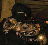 ECUADOR.- Tres personas fueron detenidas tras varios allanamientos en Guayas y Manabí. Foto: Ministerio del Interior