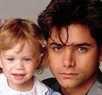 """""""Es cierto que las gemelas Olsen lloraban mucho. Era muy difícil terminar la escena"""", dijo Stamos."""