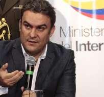 QUITO, Guayaquil.- Ministro del Interior asegura que el país cerrará el año 2015 con la menor tasa de homicidios. Foto: archivo