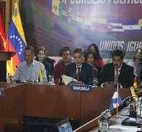 CARACAS,Venezuela.- La cita fue anunciada para informar tensiones limítrofes entre Venezuela y Guyana. Foto: Tomada de Telesurtv.net