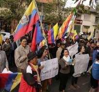 QUITO, Ecuador.-La Cnaie considera que el levantamiento es un éxito y volverán a marchar el 16 de septiembre. Foto Archivo