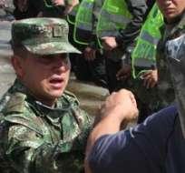 TÁCHIRA, Venezuela.-Venezuela decidió cerrar otro tramo de su frontera con Colombia. Foto AFP