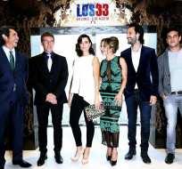 CHILE.- Antonio Banderas, Mario Casas, Rodrigo Santoro, Kate del Castillo causaron sensación entre los asistentes al estreno de la cinta. Foto: EFE