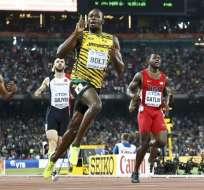 El atleta Usain Bolt ganó su décima medalla de oro en la prueba de los 200 metros.