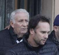 Hugo y Mariano Jinkis cuando fueron detenidos. Foto: Archivo.