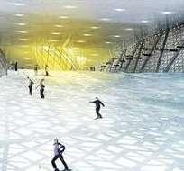 Dubái.- Se construirá la pista artificial de esquí más grande del mundo y se llamará Meydan One. Foto: archivo