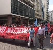 Esta tarde está previsto que grupos sociales se concentren en varios puntos de la ciudad. Foto: Lenin Artieda