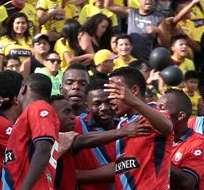 GUAYAQUIL, Ecuador.- El jugador actuó en algunos encuentros del torneo nacional como juvenil. Foto: Archivo.