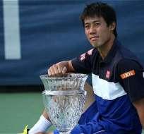 El tenista japonés se alzó con el título en Washington y ascendió un puesto en el ranking ATP.