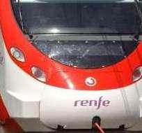 El incidente se produjo el sábado en uan estación cercana a fr Mollet del Vallès, España. Foto: Renfe