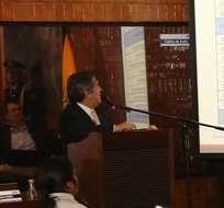 QUITO, Ecuador.- Con 19 votos a favor y tres en contra, el Concejo Metropolitano, en sesión extraordinaria, autorizó al alcalde de Quito, Mauricio Rodas, para que gestione nuevos créditos. Foto: Municipio de Quito