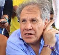 COLOMBIA.- Los ciudadanos reclamaron sus derechos en la visita que Almagro hizo al albergue en Cúcuta. Foto: EFE