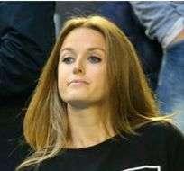 Kelsey Anderson junto a su marido, el tenista Kevin Anderson, y Kim Sears, esposa de Andy Murray.