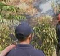 GUAYAQUIL, Ecuador.- Habitantes de Monte Sinaí aseguran que los incendios forestales son frecuentes. Foto: captura de video