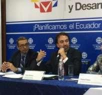 QUITO, Ecuador.- El secretario de Planificación anunció que en diciembre enviará los proyectos de ley de herencias y plusvalía suspendidos. Foto: Senplades
