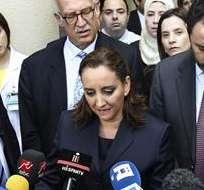 """EGIPTO.- """"Nuestro país está muy preocupado por este hecho sin precedentes"""", dijo la canciller mexicana Claudia Ruiz. Foto: EFE"""